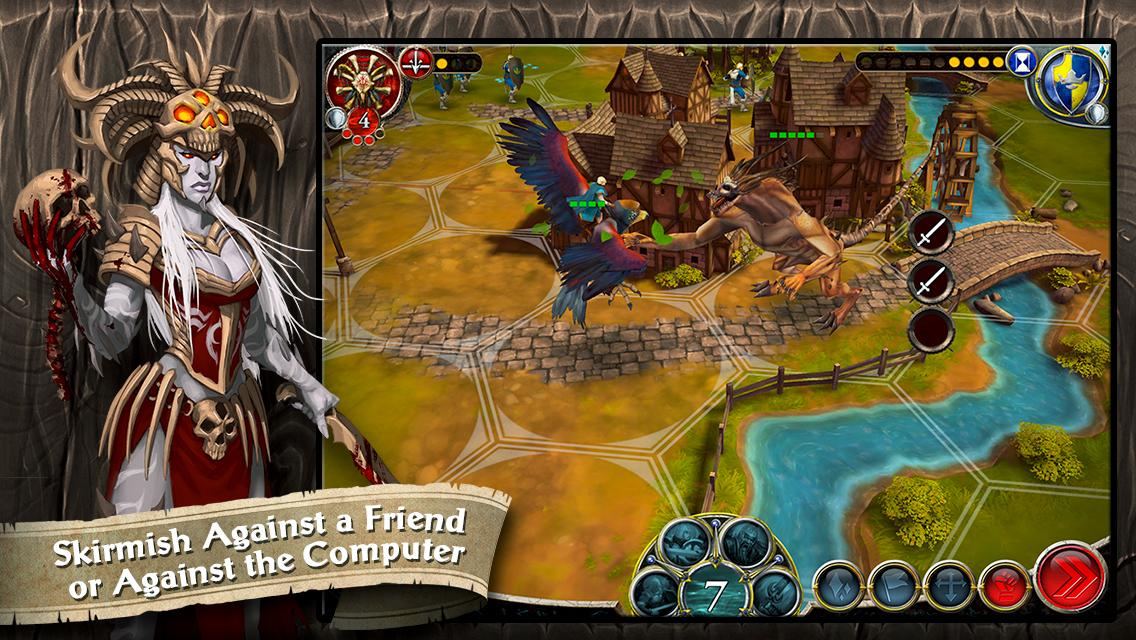 BattleLore - Command - Android Game - Screen 1