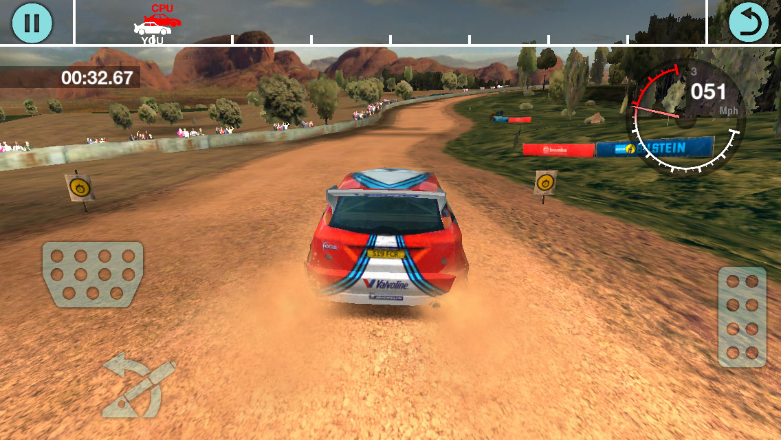 Colin McRae Rally - Android Game - Screen1