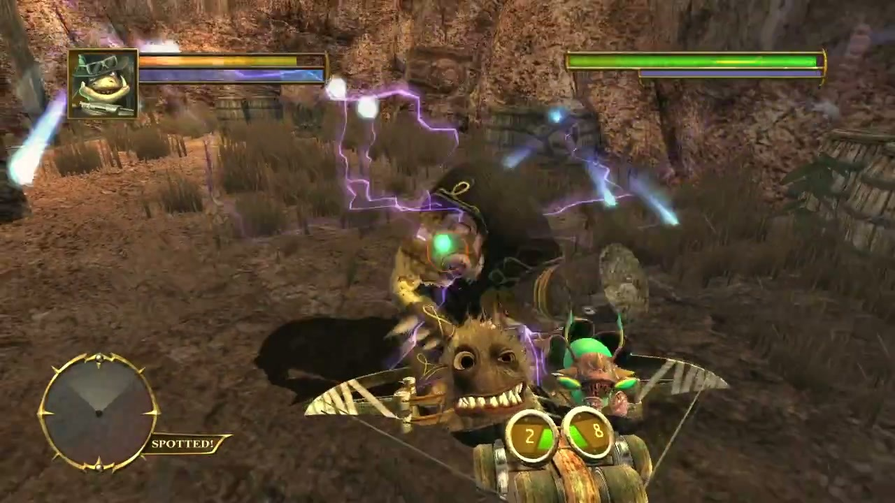 Oddworld - Stranger's Wrath - Android Game - Screen1