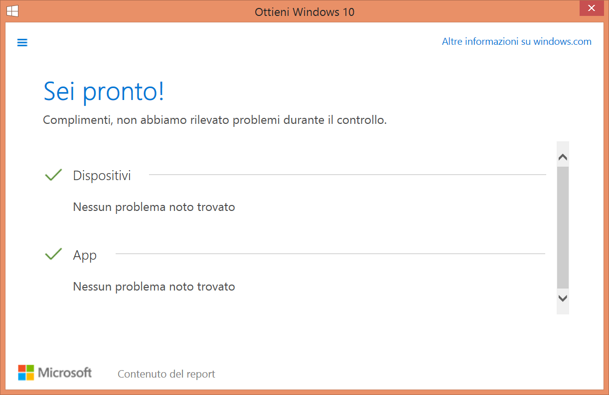Ottieni Windows 10 - Notifica - Screen2