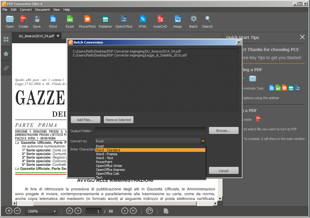 PDF Converter Elite 4 Batch