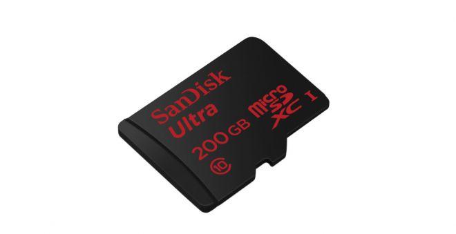 SanDisk - MicroSD 200GB