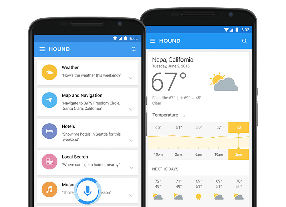 SoundHound - Hound - Assistant - Screen