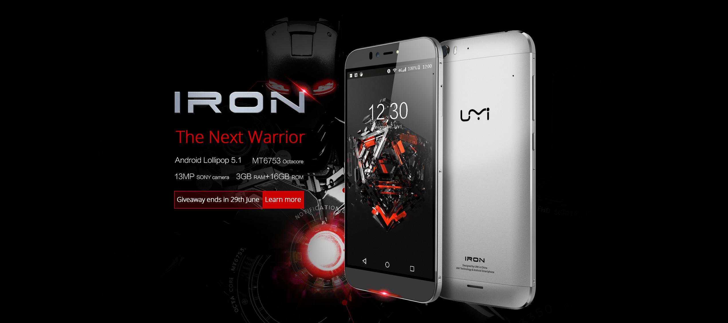 UMI-Iron