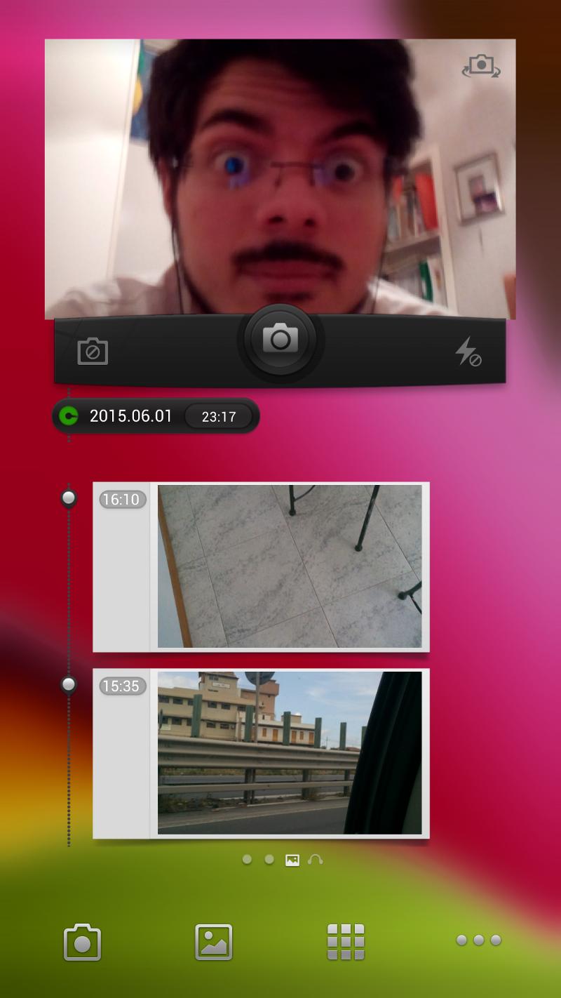 UMI X3 Homescreen