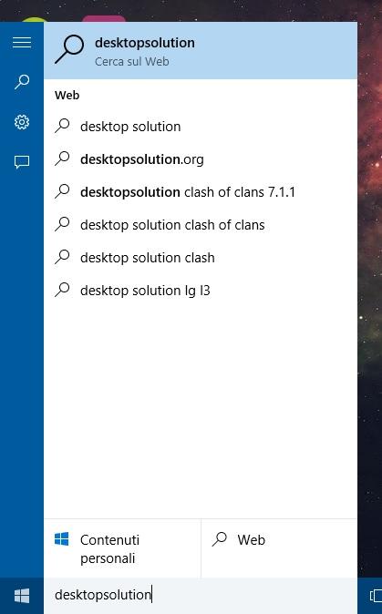 Windows 10 - Taskbar Search Box - photo1