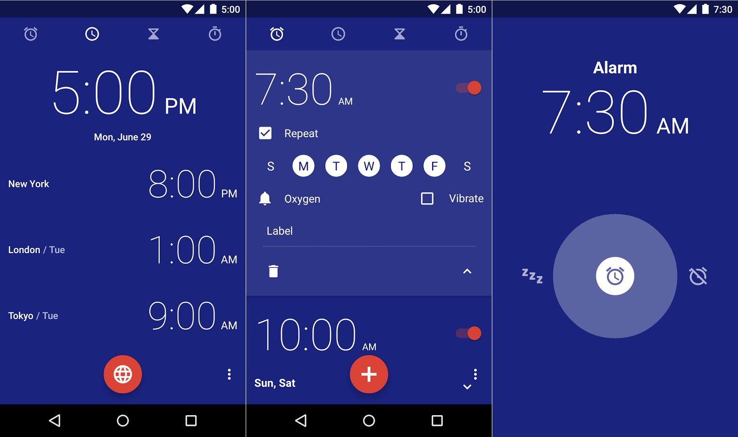 Google-Orologio-Android