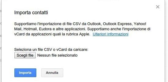 Importa Gmail