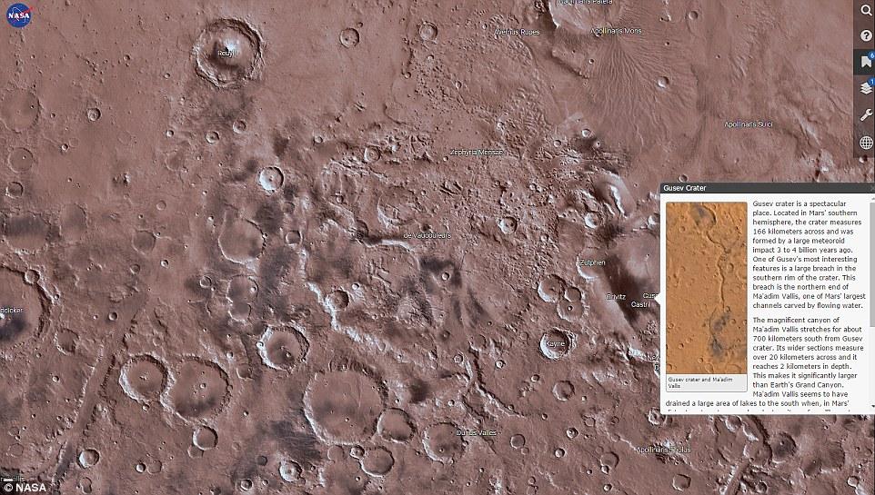 Mars Trek - Nasa - Photo2