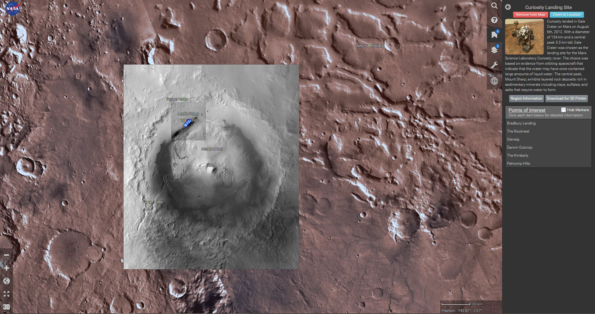 Mars Trek - Nasa - Photo3