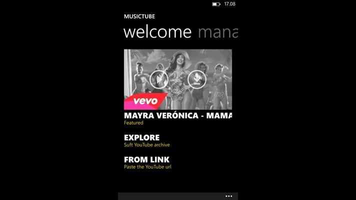 MusicTube Home