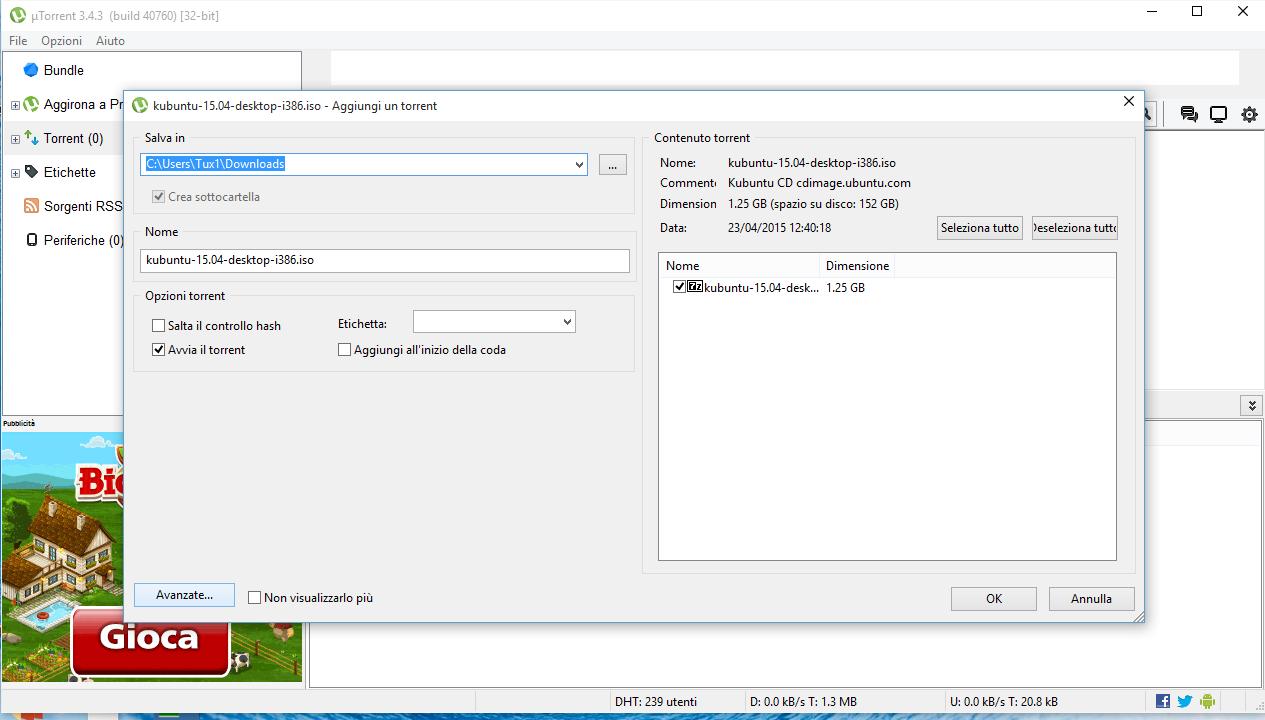 Utorrent tracker