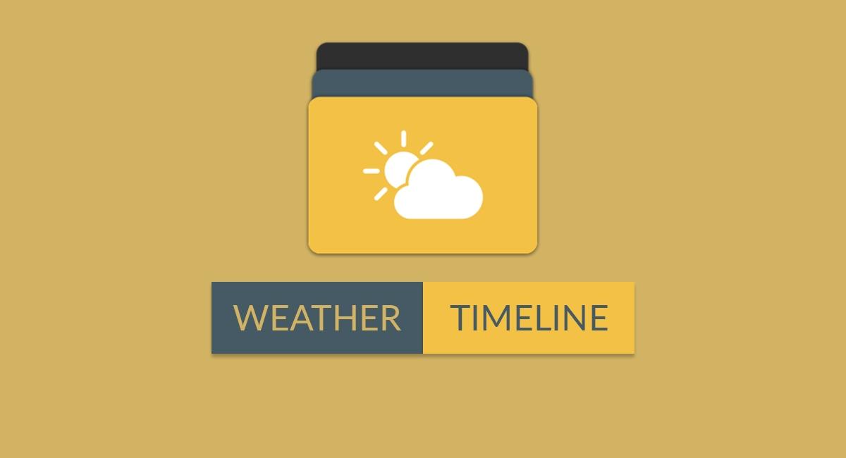Weather-Timeline-Forecast