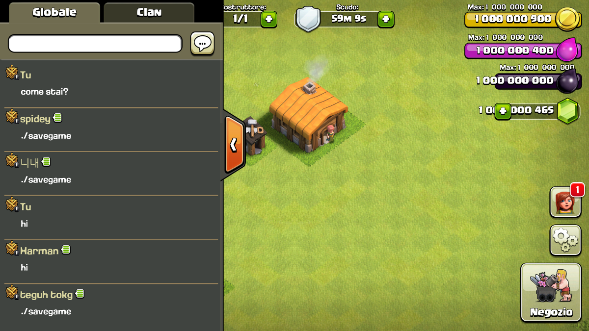 clash of clans mod apk offline unlimited gems