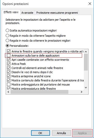 Opzioni-prestazini-animazioni-sulla-barra-delle-applicazioni
