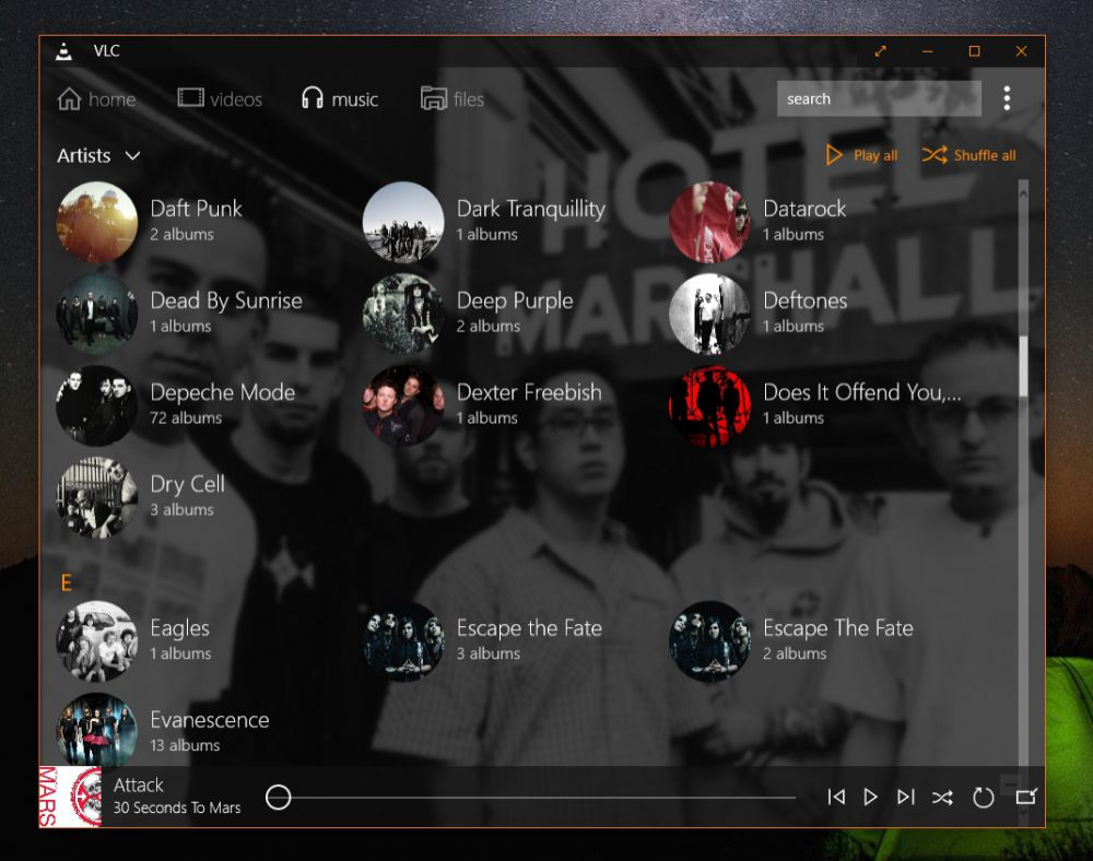 VLC for Windows 10 - Screen 2