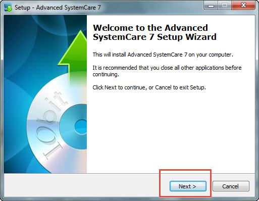 Installare IObit Advanced SystemCare Free