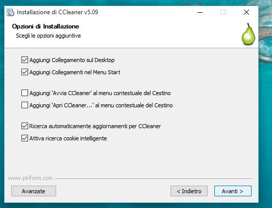 Installer ccleaner