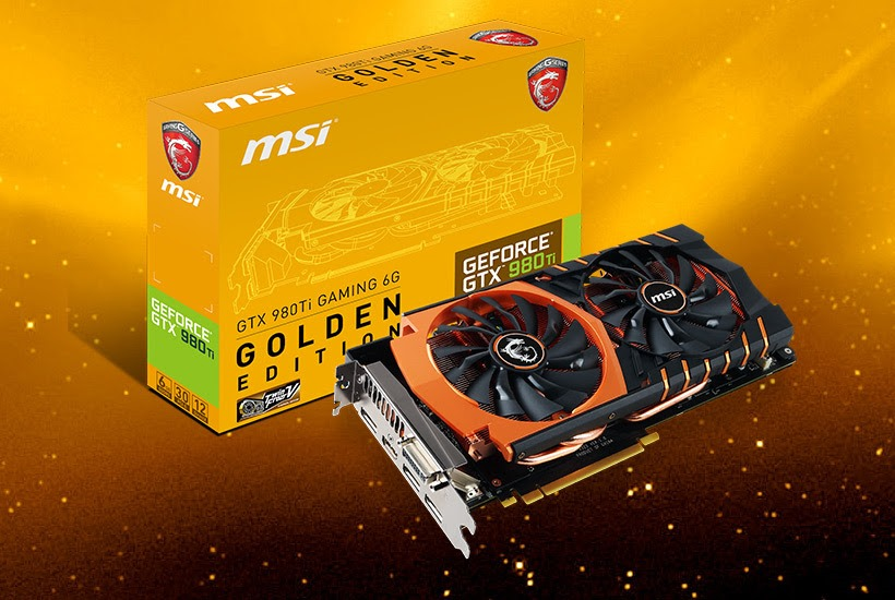 MSI GTX 980 Ti Gaming Golden Edition