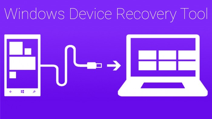 Windows Device Recovery Tool - logo