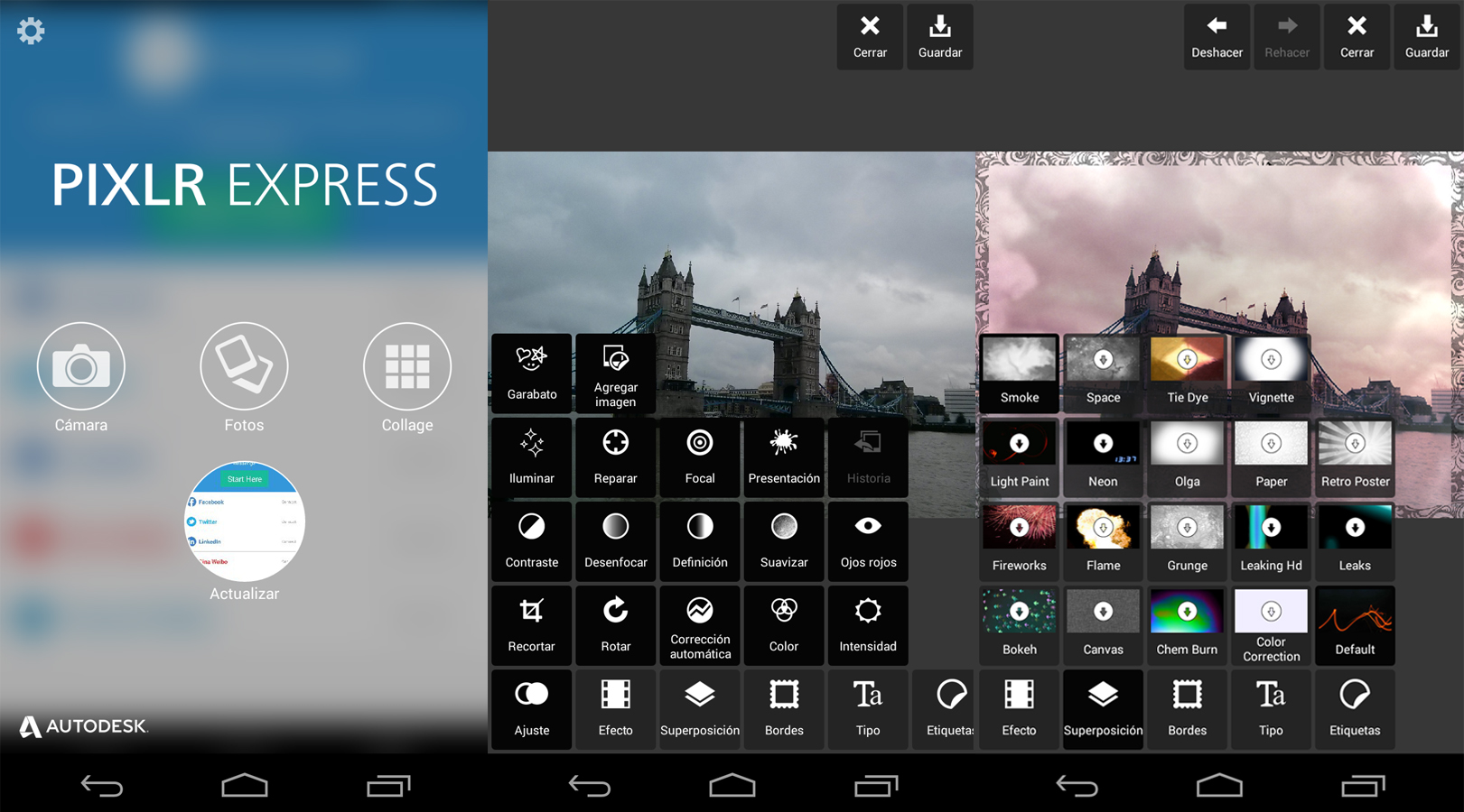Autodesk Pixlr - Screen