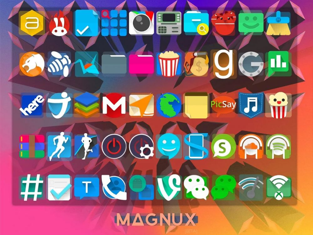 Magnux - Icon Pack