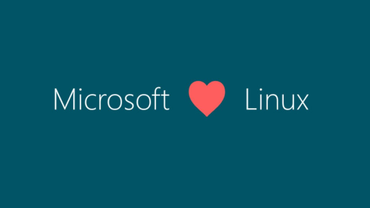 Microsoft - Love - Linux