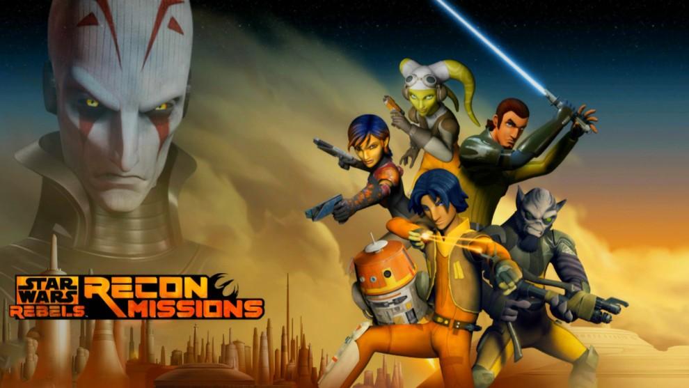Star Wars Rebels - Missions