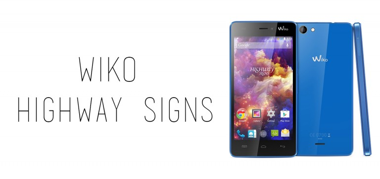 Wiko highway signs pdf