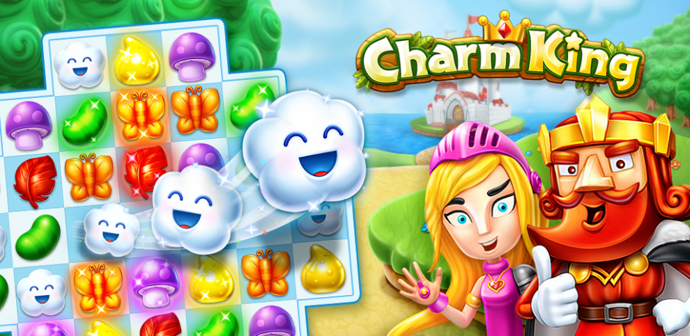 Jelly Heroes Mania – King Charm