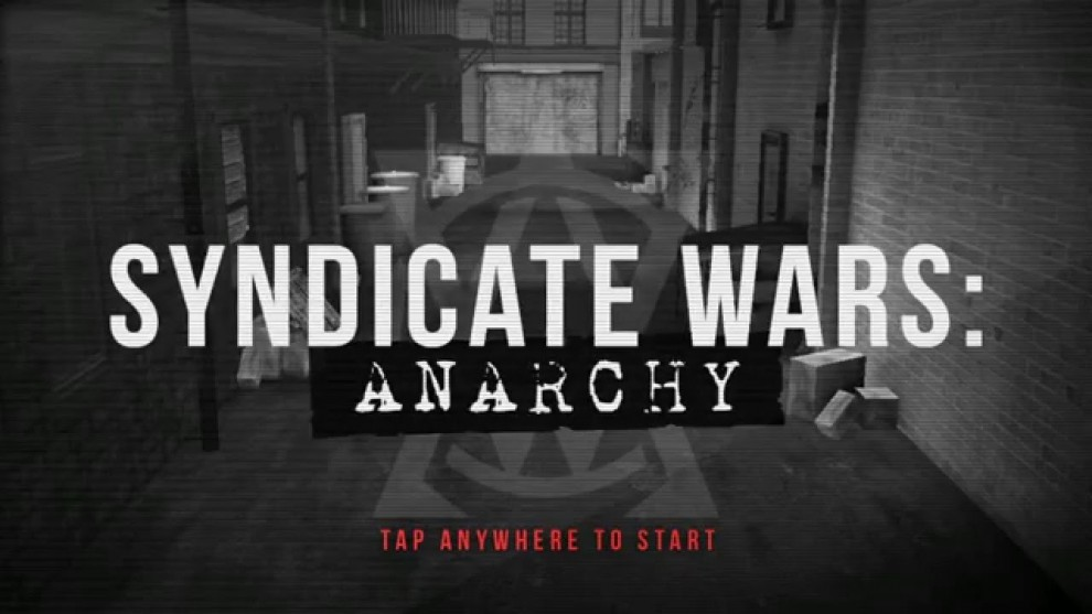 Syndicate City - Anarchy