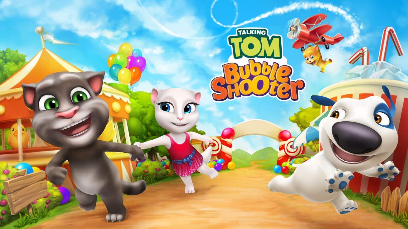 Talking Tom Bubble Shooter APK Derscription. Play the exciting action-packed bubble shooter – your next favorite game from Talking Tom. Challenge your friends or ...