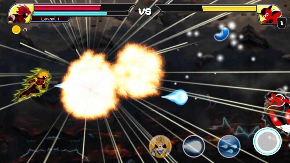 Saiyan Battle of Goku Devil (Battaglia di Goku)