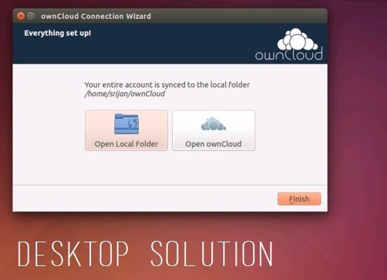 ownCloud - screen - config