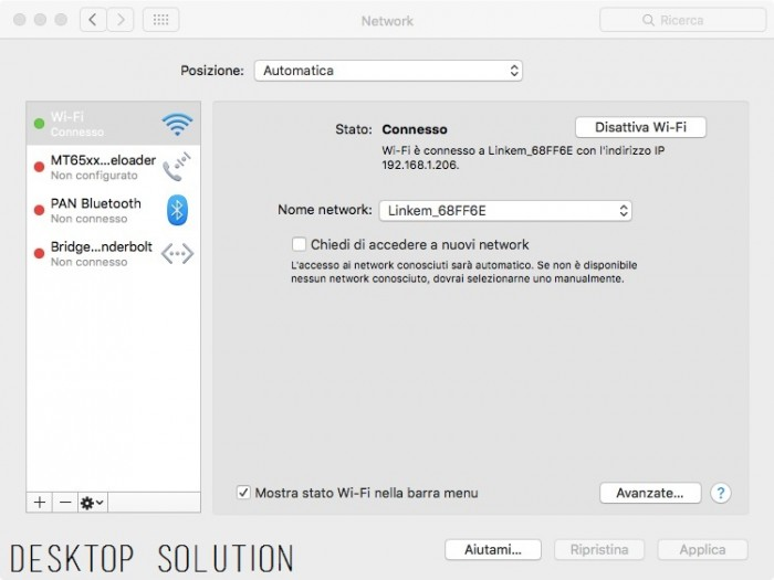 Mac OS X - Network