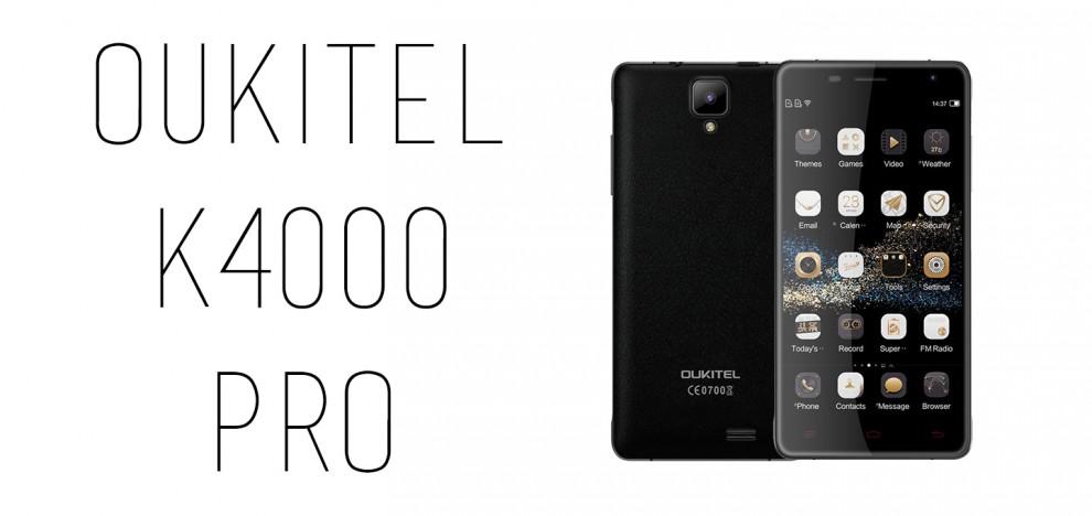 Oukitel - K4000 Pro
