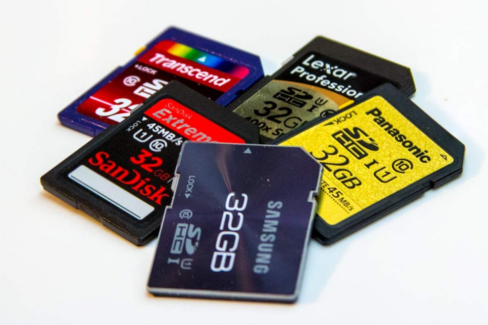 SDHC - Cards