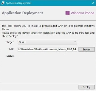Win10M-Application-Deployment-Screen-Install-WPTweaker