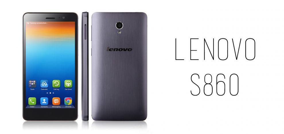 Lenovo - S860