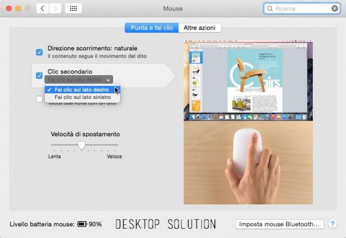 Mac OS X - Mouse