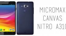 Micromax - A310 Canvas Nitro