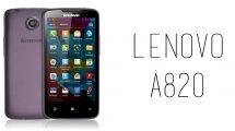 Lenovo - A820