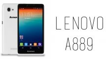 Lenovo - A889
