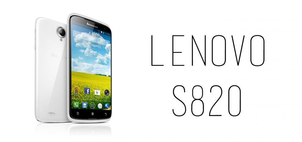 Lenovo - S820