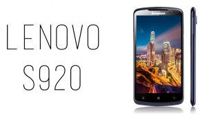 Lenovo - S920