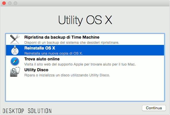 Utility OS X