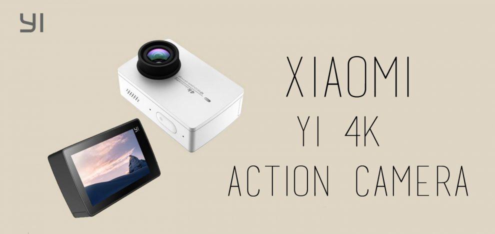 Xiaomi - Yi 4K Action Camera