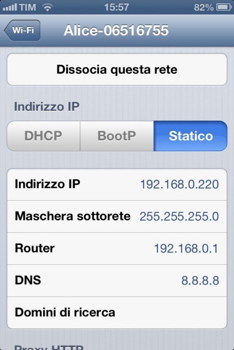 iOS_IP_Statico