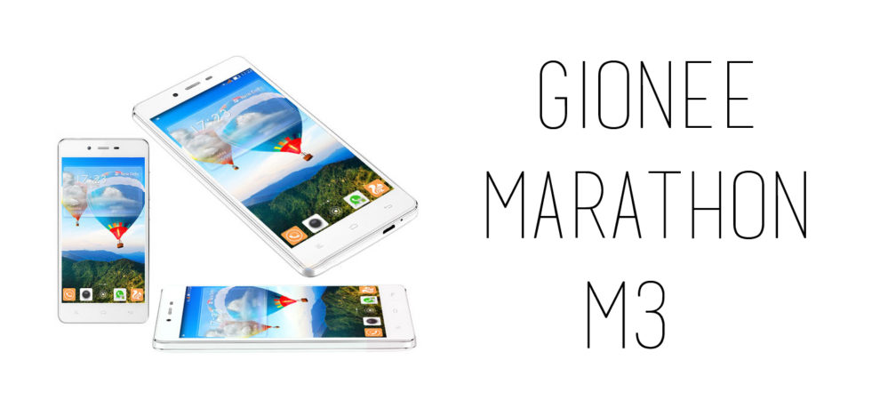 Gionee - Marathon M3