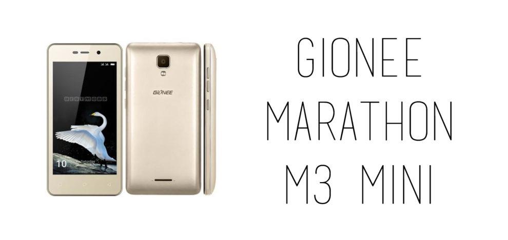 Gionee - Marathon M3 Mini